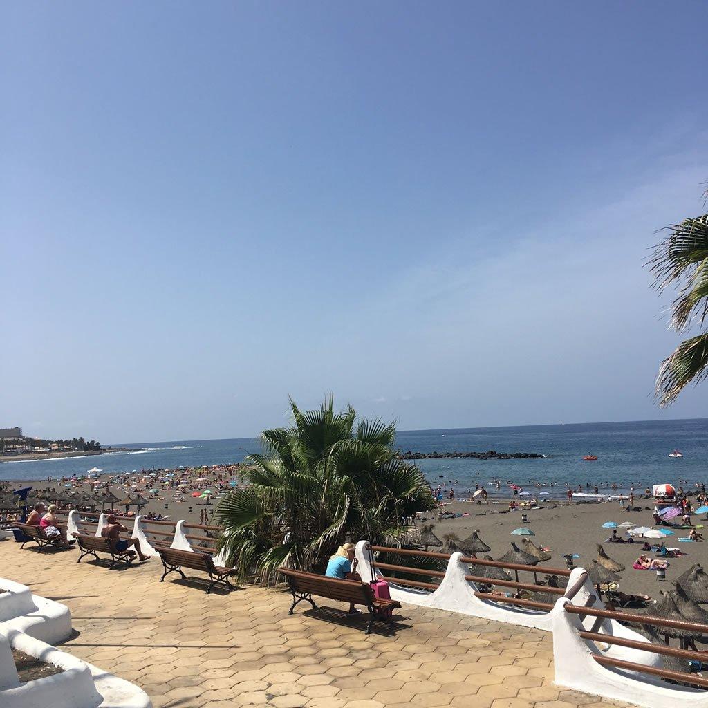 Август на Тенерифе