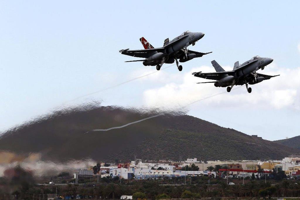 Воздушные учения по защите Канарских островов