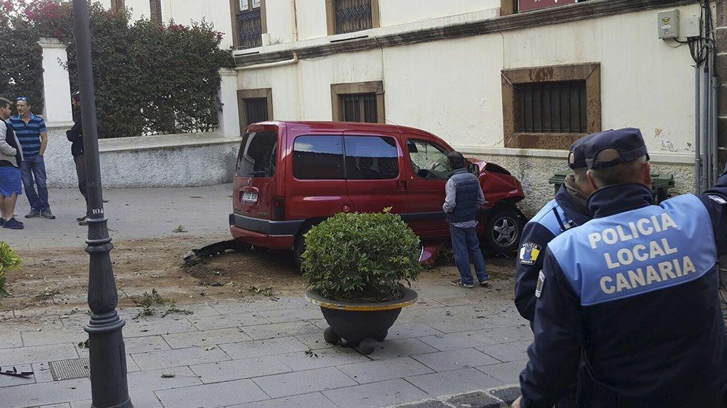 Семеро пострадавших в результате наезда в La Orotava