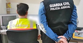 Гражданская гвардия задержала 5 человек за хранение и распространение детской порнографии