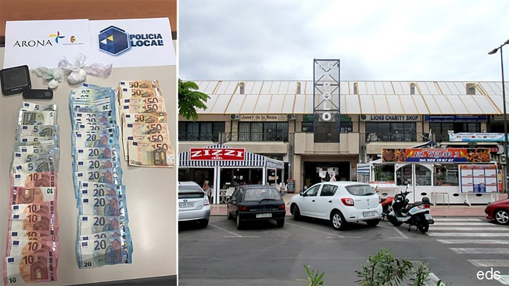 В торговом центре Apolo задержан марокканец с кокаином