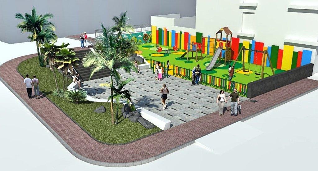 Valle San Lorenzo: будет создан новый небольшой сквер с площадкой для детей