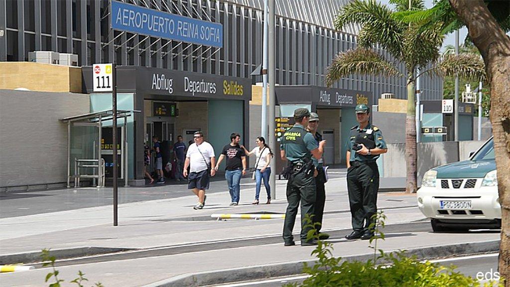 Арестован мужчина с поддельными документами в южном аэропорту Тенерифе