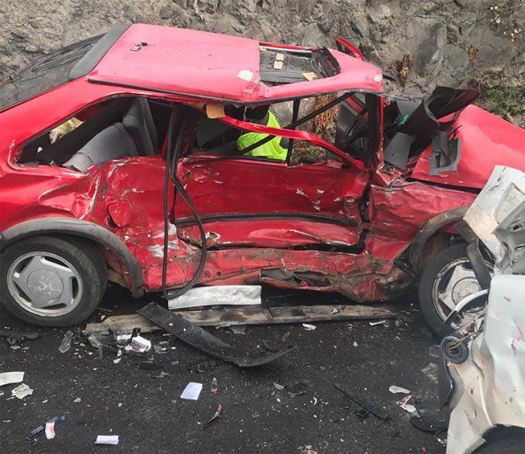 Пожилая женщина погибла вчера за рулем автомобиля на Тенерифе