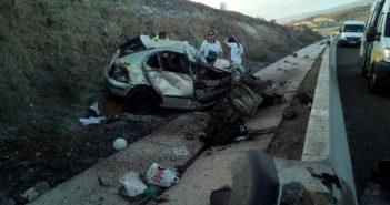 Авария с тяжелораненым на шоссе TF-1 в муниципалитете Guia de Isora