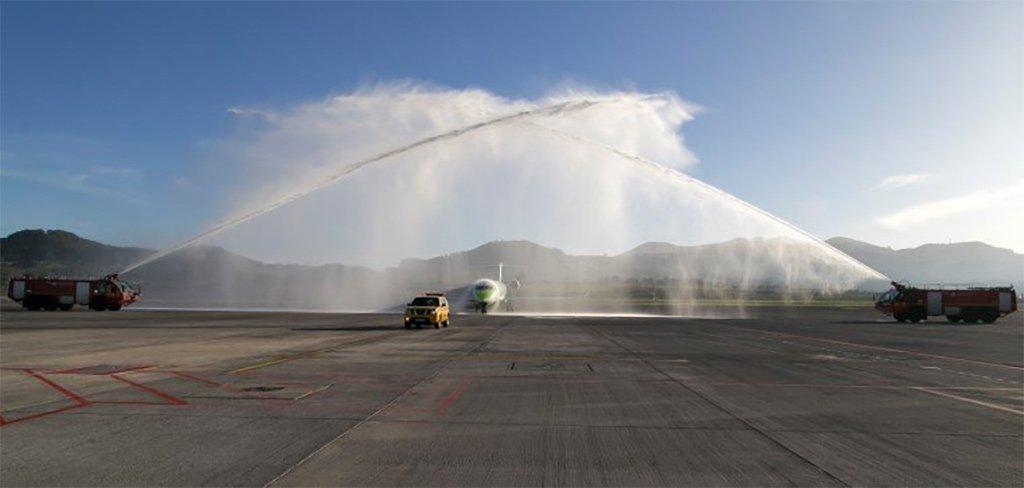 Авиакомпания BINTER торжественно открыла новую линию до Португалии