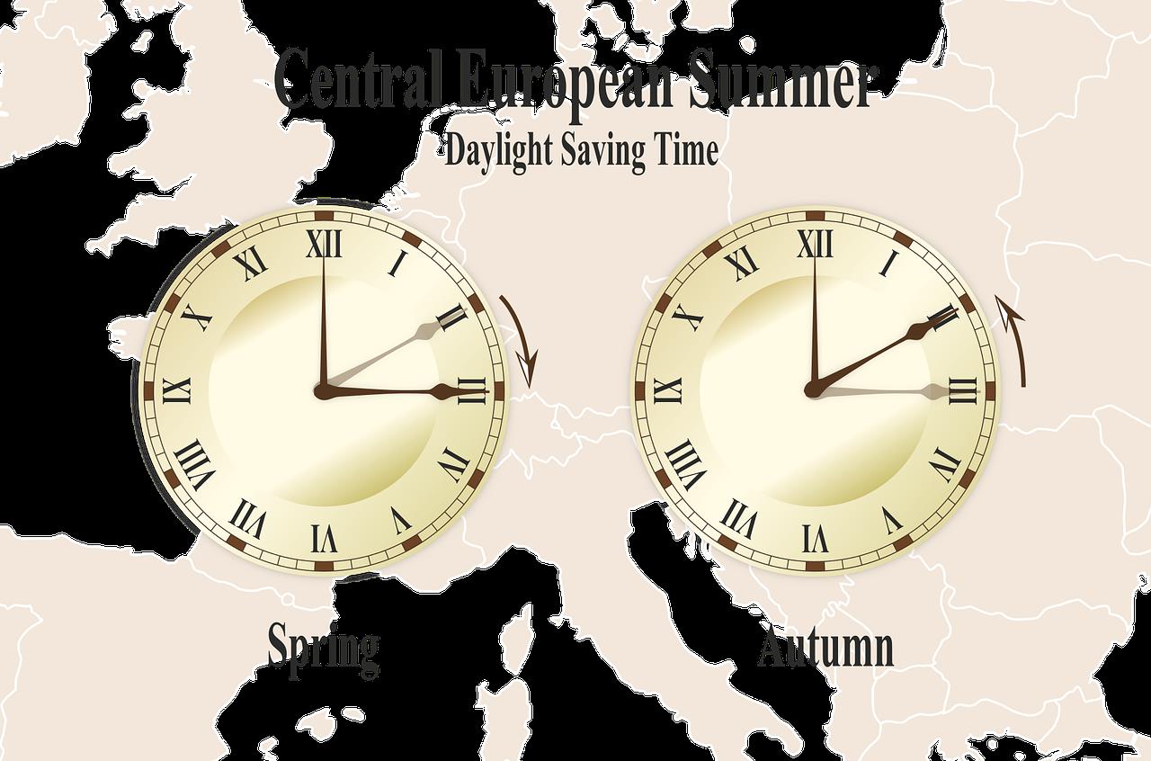 Посмотрите на часы с утра, все ли в порядке со временем?