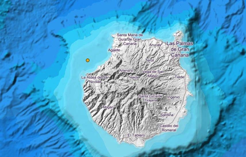 Землетрясения идут от острова к острову, с запада на восток