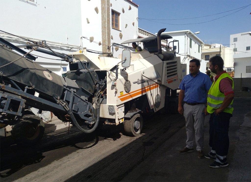 Рекорд инвестиций в муниципалитете Arona по асфальтированию улиц