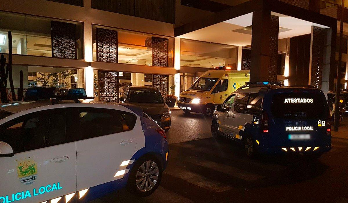 Турист из Германии выбросился прошлой ночью в окно отеля в Puerto de la Cruz