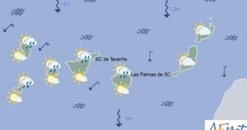 Сильный шторм может принести бури, град и снег на Канарских островах на следующей неделе