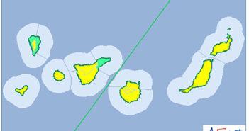 Оповещение о сильных ветрах на Канарских островах