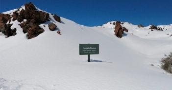 Канарские острова ждут бури и снегопад на вершинах гор