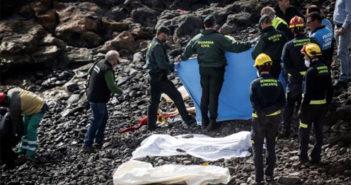 Как минимум семь молодых иммигрантов погибли в лодке возле острова Lanzarote