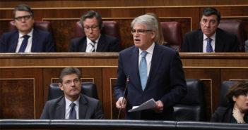 Канарская война против нефти вчера избрала полем битвы Парламент Испании