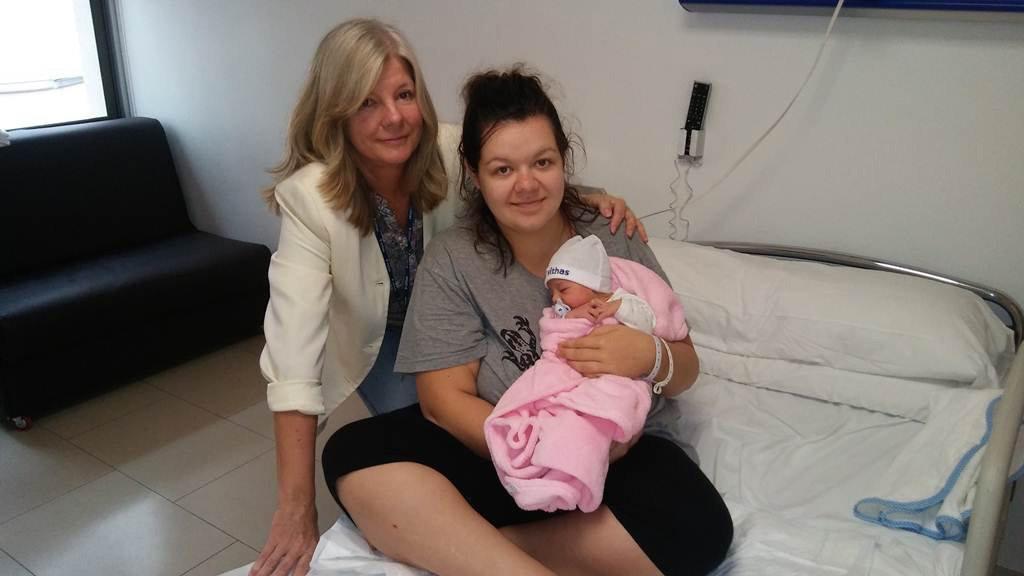 Туристка из Финляндии родила на острове Gran Canaria, не зная, что она беременна