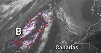 Правительство Канар объявляет предупреждение о сильных дождях