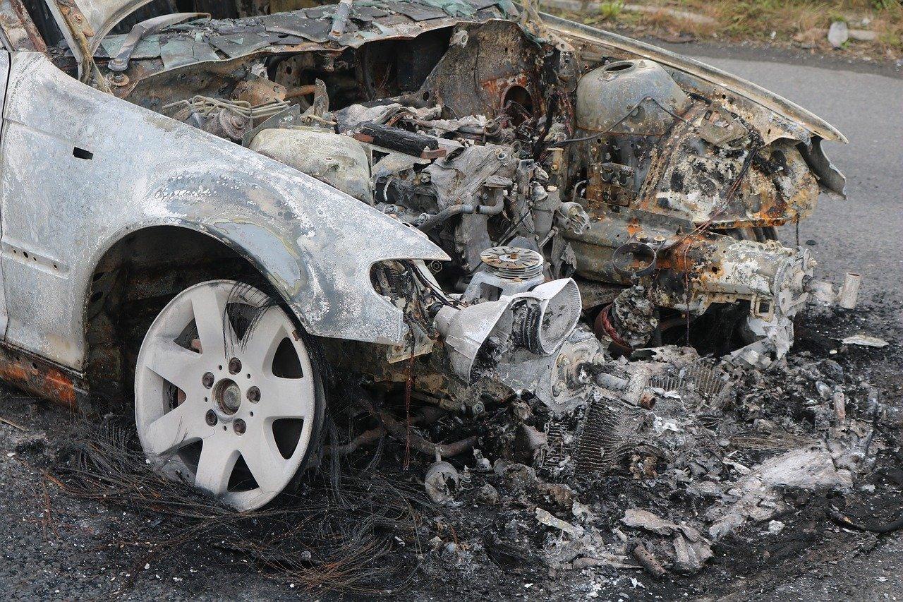 На Канарах резко возросло количество заявлений о сгоревших автомобилях