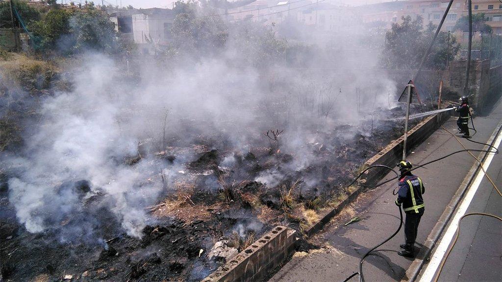 Вся провинция Тенерифе и остров Гран-Канария в опасности из-за лесных пожаров