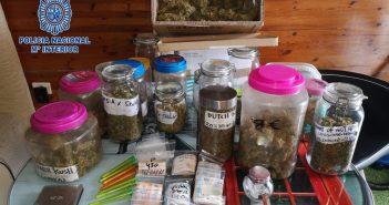 Трое арестованных за торговлю наркотиками через ассоциацию каннабиса на юге Тенерифе