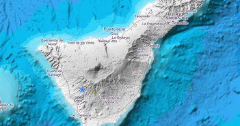 Сейсмический рой зарегистрирован в муниципалитете Adeje острова Тенерифе