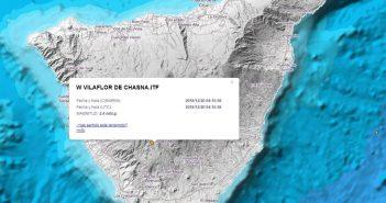 Новое землетрясение в муниципалитете Vilaflor, на Тенерифе