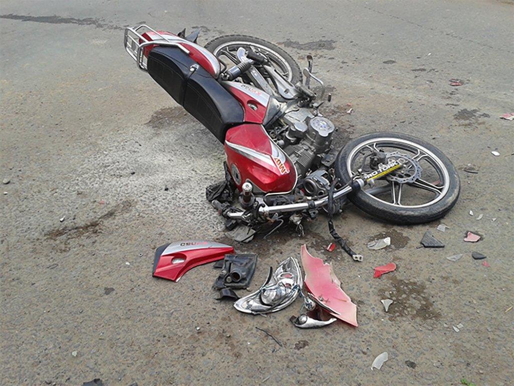 Смертельная авария с мотоциклистом в Candelaria