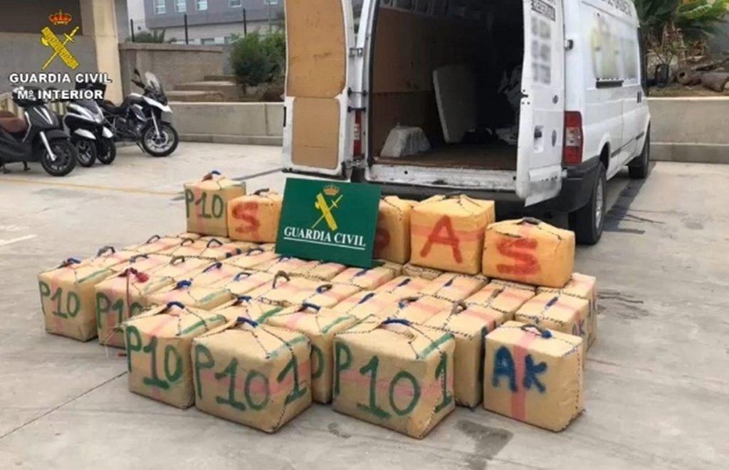 Гражданская гвардия ликвидировала ещё одну сеть наркоторговцев на Канарах
