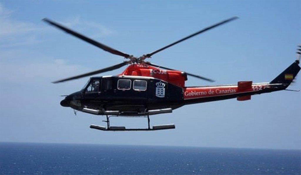 Парапланерист упал в ущелье в Adeje, спасали с вертолётом