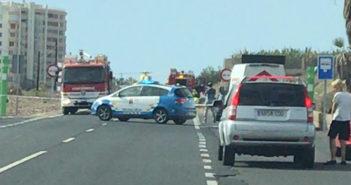 Экстренная эвакуация на вертолёте водителя перевернувшегося авто