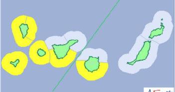 Волны до пяти метров на западных островах архипелага
