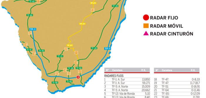 Ловите штрафы: 78 радаров работают на Канарах с этой пятницы