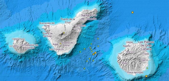 Involcan зарегистрировал несколько небольших землетрясений на островах