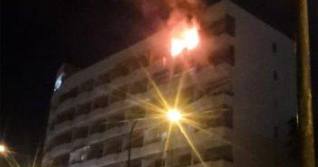 Puerto Santiago: два человека пострадали при пожаре квартиры