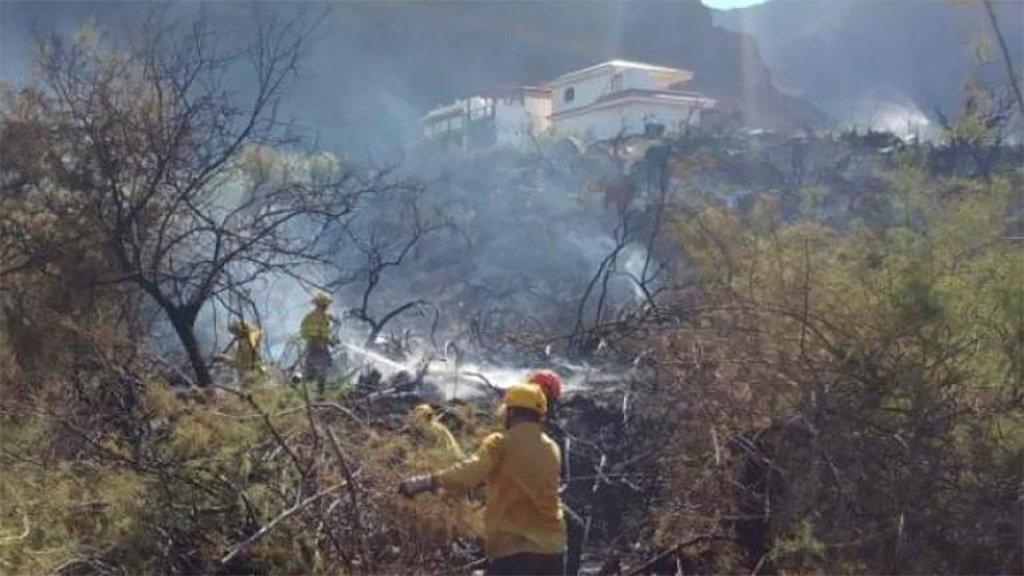 Пожар на острове La Gomera, возможно, был преднамеренным