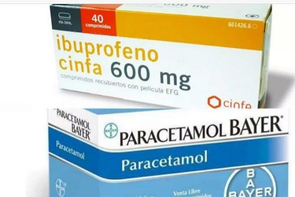 Ibuprofeno 600 mg и Paracetamol 1 gr - теперь только с рецептом