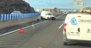 Две аварии за один час на дорогах Тенерифе