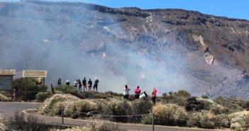 Огонь на Teide: обнаружены два очага возгорания
