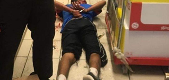 Грабитель ранил охранника супермаркета в муниципалитете Arona