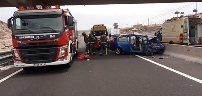 Две женщины ранены в аварии на южном шоссе Тенерифе