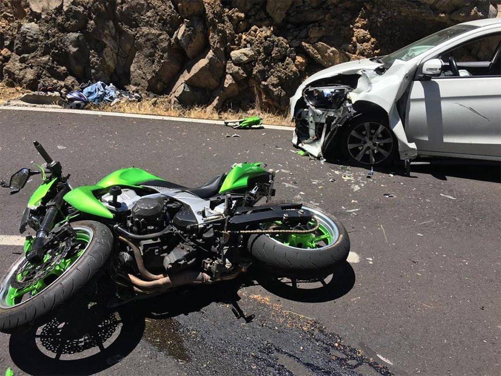 Более десятка раненых во вчерашних авариях на Тенерифе