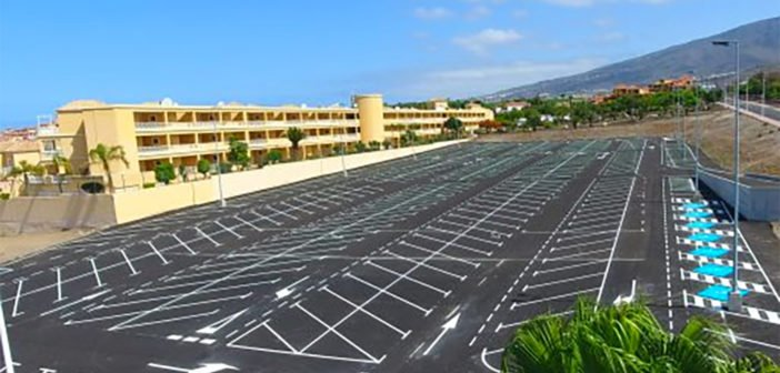 Adeje: открыта стоянка на более 500 мест для автомобилей