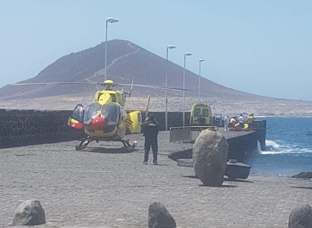 Виндсёрфер умер в El Médano, на острове Тенерифе