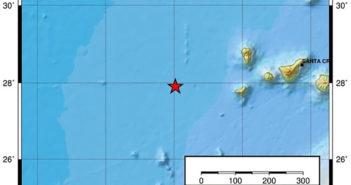 Сильные землетрясения на западе острова El Hierro
