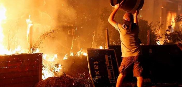 Кто бы мог подумать: Барселона который день в дыму и огне