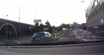 Ротонда - одно из самых опасных мест для водителей не Тенерифе