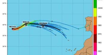 Канарские острова в ожидании урагана Rebekah. Придёт?