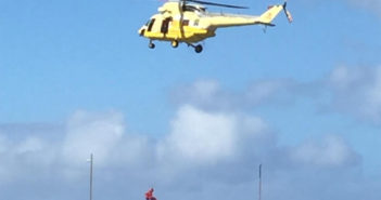 На вертолёте спасли купальщицу на побережье Santiago del Teide