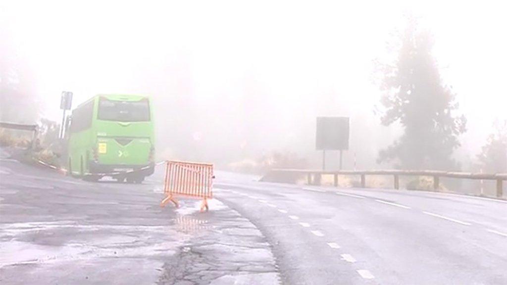 Открыт подъём на Тейде по шоссе из Оротава