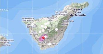 Vilaflor: первое землетрясение на Тенерифе в Новом году